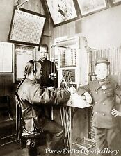 First Chinese Telephone Operator, Chinatown, S.F. CA - Steampunk Interest Photo
