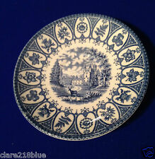 "Preloved 1977 Queens Silver Jubilee Blue Broadhurst Balmoral Saucer 5.5"""