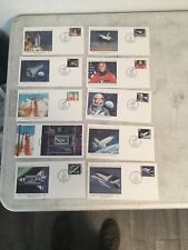 Marshall Islands Space FDC's Collection of 10