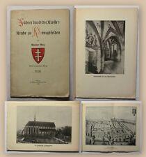 Merz Führer durch die Klosterkirche zu Königsfelden 1923 Geschichte Reisen xy
