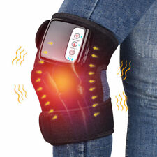 Electric Heated Arthritis Knee Pad Pain Relieve Massager Vibration Therapy