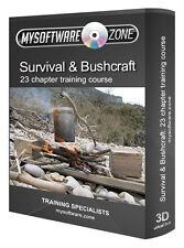 Imparare a sopravvivere all' aperto DESERTO Tropics mare freddo costruire incendi SHELTER