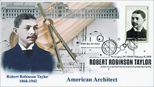 New 2015, Robert Robinson Taylor, Black Heritage, BW Pictorial, FDC, 15-028