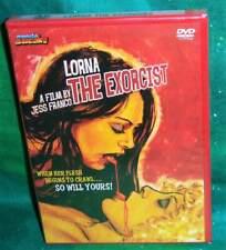 NEW RARE OOP MONDO MACABRA JESS FRANCO LORNA THE EXORCIST HORROR MOVIE DVD 1974