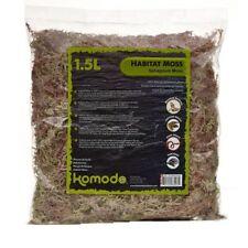 Komodo Habitat Moss 1.5 Litre X2