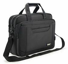 Men's Briefcase Laptop Messenger Large Capacity Handbag Business Office Bag
