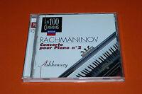 """CD RACHMANINOV """"CONCERTO POUR PIANO N°2"""" ASHKENAZY & PREVIN / DECCA, TB ÉTAT"""