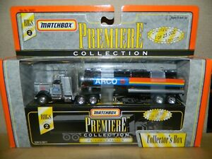 Matchbox Premiere Rigs Series 2 Arco Tanker Truck Brand New Ship Free in US