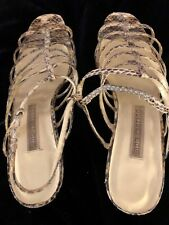 Ann Marino Snake Look Shoes Size 7.5
