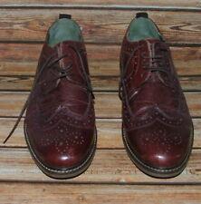 Jones Brogues Dark Brown Leather Shoes Size  9UK