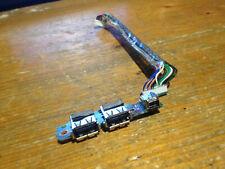 HP COMPAQ NX6320 USB / FIREWIRE BOARD / ADAPTER & CABLE