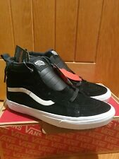 Vans SK8 Hi MTE UK 8.5 EU 42.5 Black White Mens Suede Skate All Weather Trainers