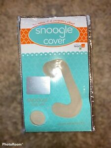 Leachco Replacement Cover for Snoogle Chic Jersey - Sand, Ivory, Taupe