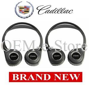 2017-2020 Cadillac Escalade ESV Platinum TWO Headphones for Overhead DVD System