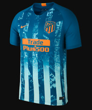 Camiseta HOMBRE personalizable Atletico Madrid 18/19  Azul + parches  S M L XL