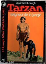 E.R BURROUGHS - TARZAN n°1 - SEIGNEUR DE LA JUNGLE - 1986 NEO FANTASTIQUE .
