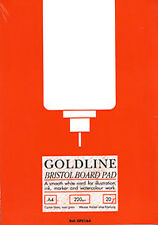 GOLDLINE BRISTOL BOARD PAD 220gsm-A3