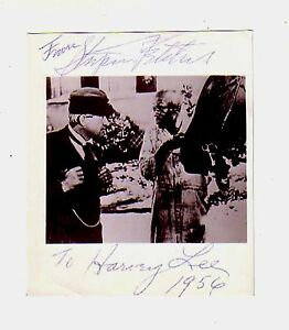 STEPIN FETCHIT (Lincoln Perry) autograph/1956