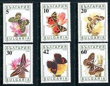 Bulgaria 3551-3556, MNH, Insects  Butterflies 1990. x12711