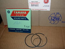 YAMAHA RD 400' 76-78 1a1 2x piston anneaux 4.maß 65,00 ° pistonrings rd400