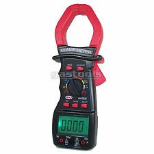 NEW PRO CLAMP MULTIMETER TRUE RMS AC/DC 1000 AMPS