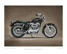 Harley-Davidson Sportster XL1000: Limited Edition Collectors Print by Steve Dunn