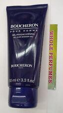 BOUCHERON POUR HOMME MEN ALL OVER SHOWER GEL 3.4/ 3.3 OZ/ 100 ML NEW IN TUBE