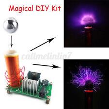Mini Tesla Coil Plasma Speaker Kit Electronic Field Music 15W DIY Project  A