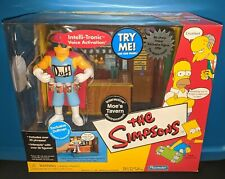 The SIMPSONS WOS MOE's TAVERN DUFFMAN Interactive Environment Playmates 2002 MIB