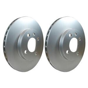 Front Brake Discs 256mm fits VW GOLF 1E7, Cabriolet 3 + 4 1.8 2.0