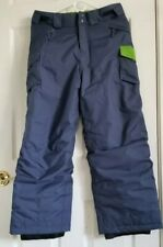 Patagonia Kids Girl Insulated Snow Pants - Grey Green. Size XL Brand New