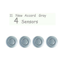 4Pc Universal Parking Sensor Car Reverse Backup Ultrasonic Radar new accord gray