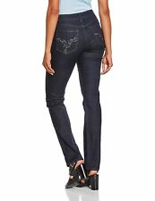Not Your Daughters Jeans Tummy Tuck NYDJ Embellished Slim Jeans Size 8 Orig$124
