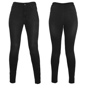 Oxford Super Jeggings Long Leg Black Size 16 Women Protection Pants Motorcycle