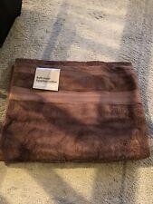 Debenhams Egyptian Cotton Bath Sheet Towel Brown
