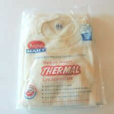 Murphys Mart Mens Thermal Underwear Size Small NOS Vintage