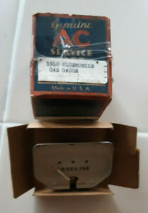 1940 Oldsmobile - Used working AC fuel gauge with box - Made in USA vintage GM