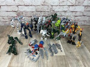 1kg Lego Bionicle Bundle Job Lot Figures Masks Mixed Pieces Chima Hero Factory