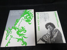 Charles Lloyd 1968 Japan Tour Book Signed Copy w Flyer Paul Motian Ron McClure