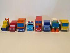 Wooden Vehicles And Train Accessories Elc Bundle (24 Vehicles)