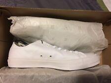 Converse Low Chuck Taylor II 2 Unisex Size 10 150154C LUNARLON WHITE NEW