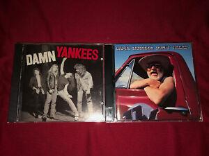 Damn Yankees 2 CD Lot Don't Tread Jack Blades Night Ranger Tommy Shaw Hard Rock