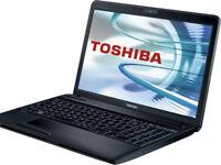 "Toshiba Satellite Pro C660 15.6"" Intel Core 2 Duo 4GB Ram 250GB HDD Win 7 Webcam"