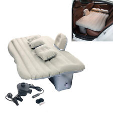 Car Air Bed Inflatable Mattress Back Seat Cushion Two Pillows For Travel Camping