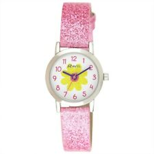 Girls Pink Watch Glitter Daisy 🌼 Flower By Ravel R1808. 4