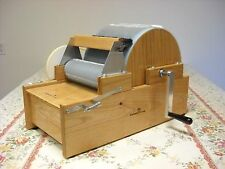 Large manual deluxe brother drum carder