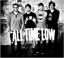 """044 All Time Low - Pop Punk Band Music Stars 15""""x14"""" Poster"""