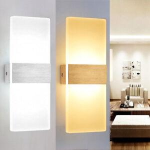 6W/12W LED Wandleuchte Lampe Leuchte Innenleuchte Wandlampe Treppenleuchten
