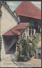 Switzerland Postcard - Courtyard, Chillon Castle    RT1115