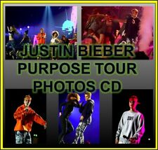 JUSTIN BIEBER PURPOSE TOUR PHOTOS CD 1800 LIVE CONCERT (NOT PROMO VIP)